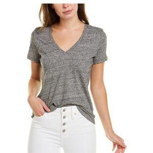 Madewell T-shirt V neck heather gray whisper L